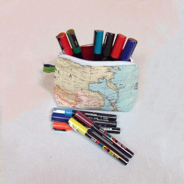 Tasche Weltkarte