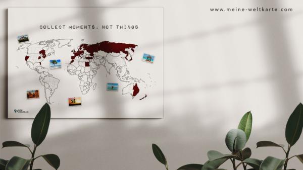 Zeige deine bereisten Länder auf Zoom mit meine-weltkarte