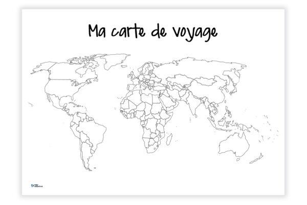 Ma carte de voyage