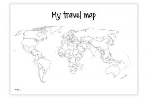 My travel map
